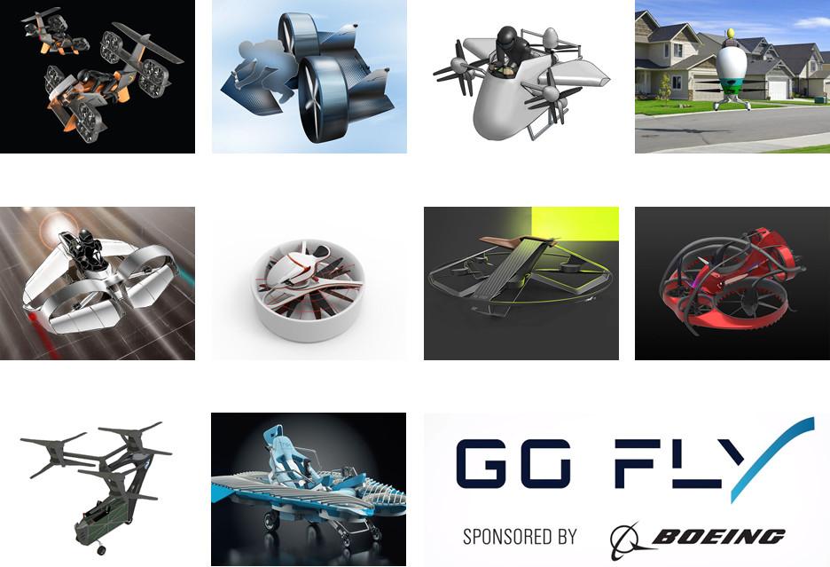 """Oto najlepsze """"osobiste maszyny latające"""" według Boeinga"""