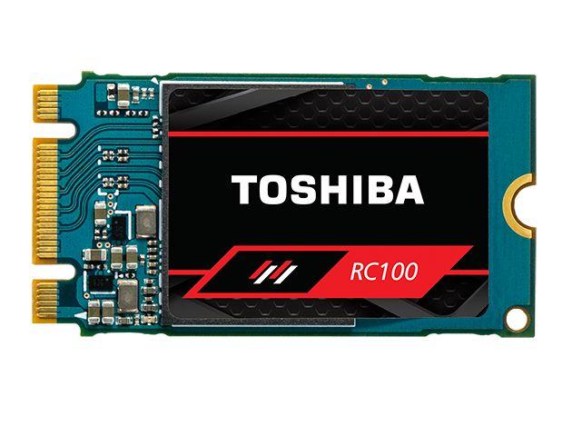 Toshiba OCZ RC100 - niedrogie i niewielkie SSD z pamięciami 3D BiCS NAND