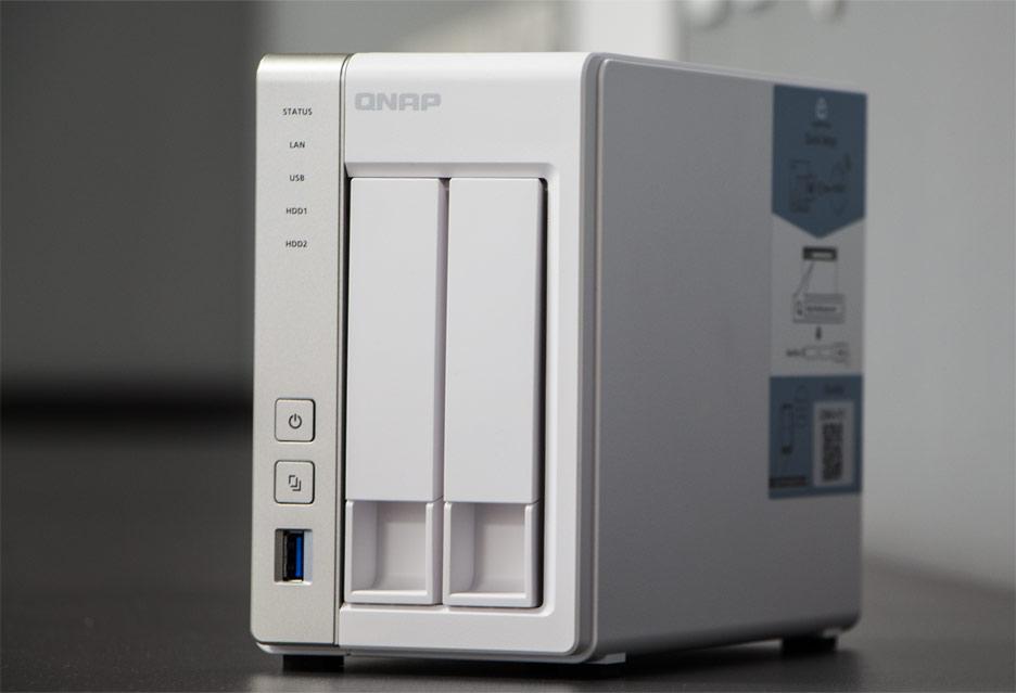 QNAP TS-231P2 - wydajny NAS w domu | zdjęcie 1