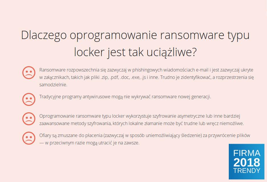 Serwer NAS remedium na problemy z ransomware? TiF trendy 2018