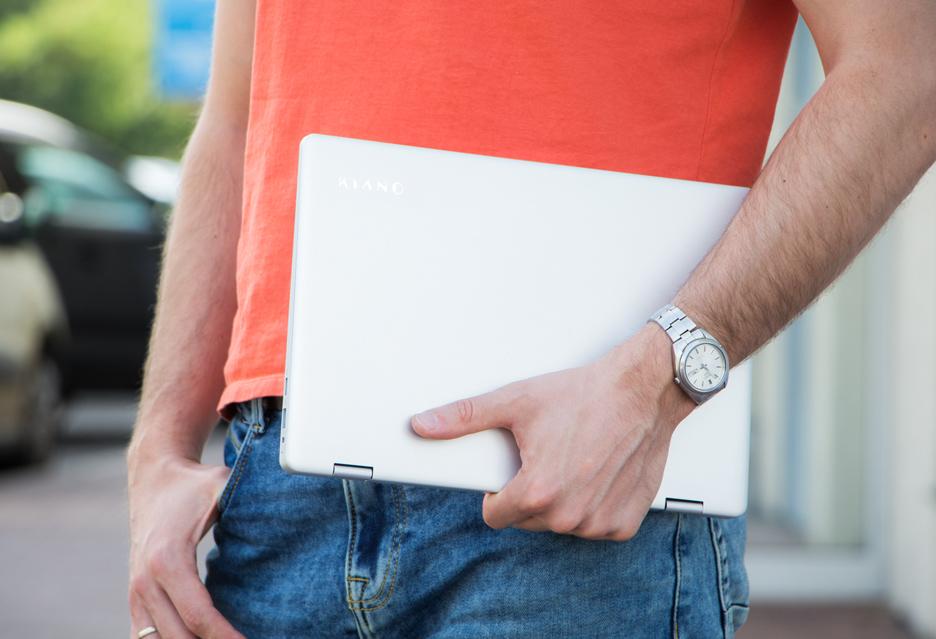 Kiano Elegance 13.3 360 - test taniego konwertowalnego laptopa | zdjęcie 1