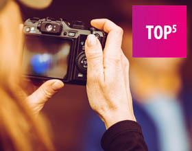 Jaki aparat do nagrywania filmów - TOP 5