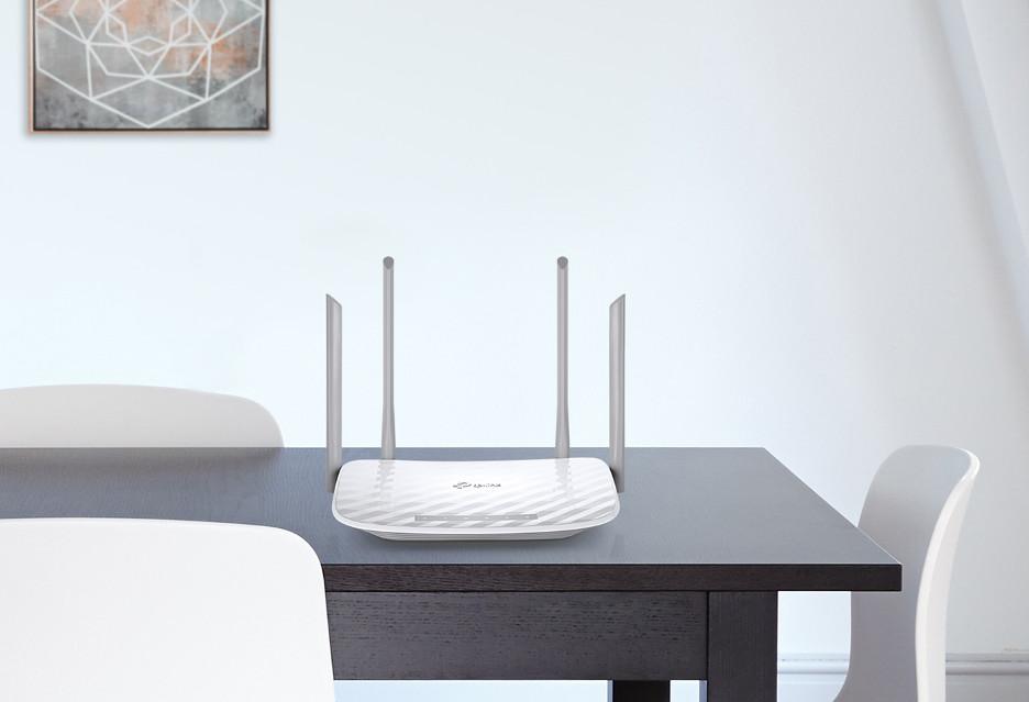 Router TP-Link Archer C5 v4 do domu - dwa pasma i cztery anteny