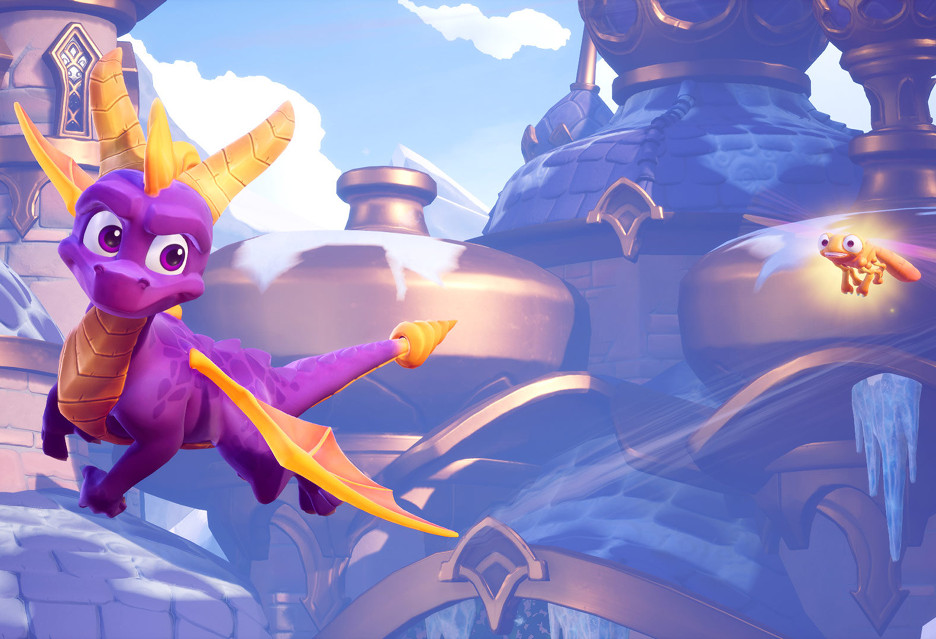 Dwanaście minut z nowym, ładniejszym Spyro