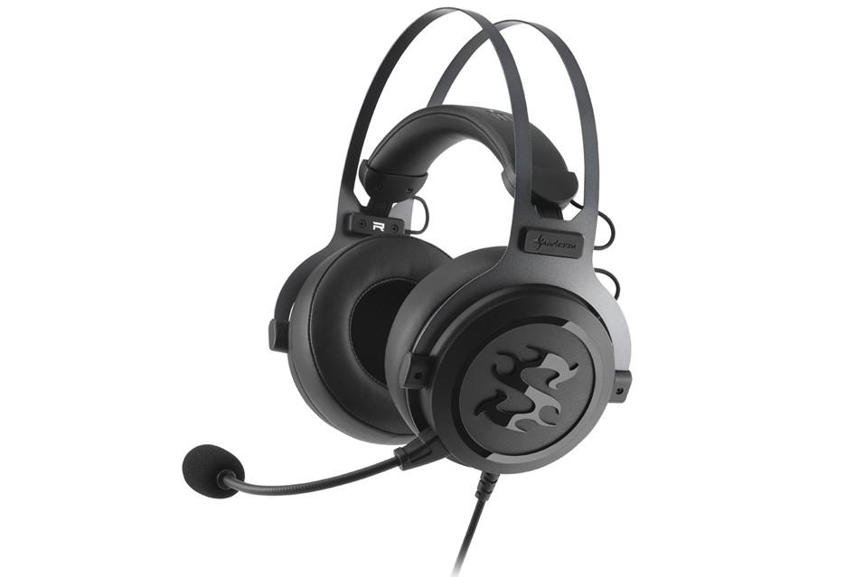 Dobrze wyposażone słuchawki Sharkoon SGH3 nie tylko dla gracza