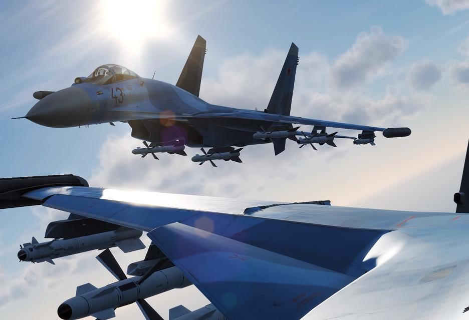 Modern Air Combat to (pięknie wyglądający) symulator współczesnego myśliwca