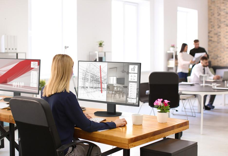 Nowe 27-calowe monitory do pracy od NEC