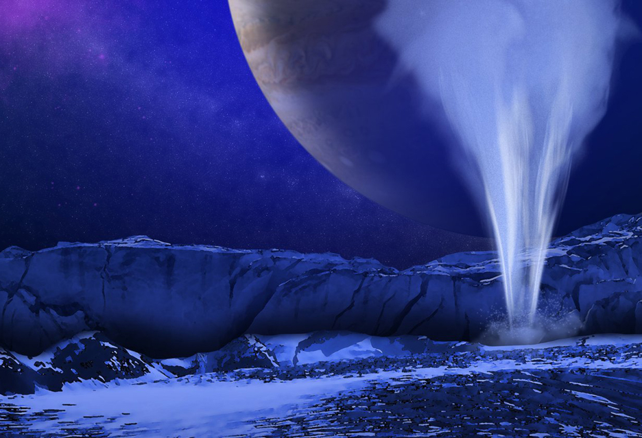 Życie na jowiszowym księżycu Europa jeśli istnieje, może być łatwe do odkrycia