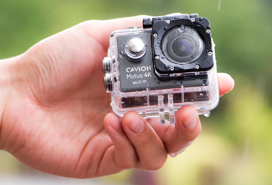 Cavion Motus 4K Wi-Fi - test taniej kamerki sportowej | zdjęcie 1