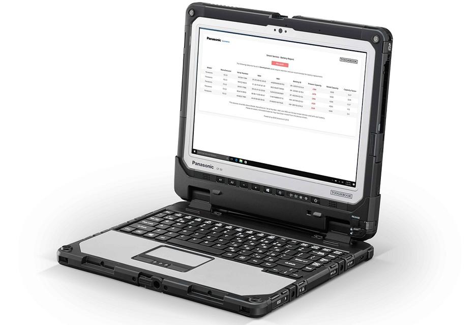 Dodatkowa gwarancja na akumulatory we wzmocnionych laptopach Panasonic Toughbook