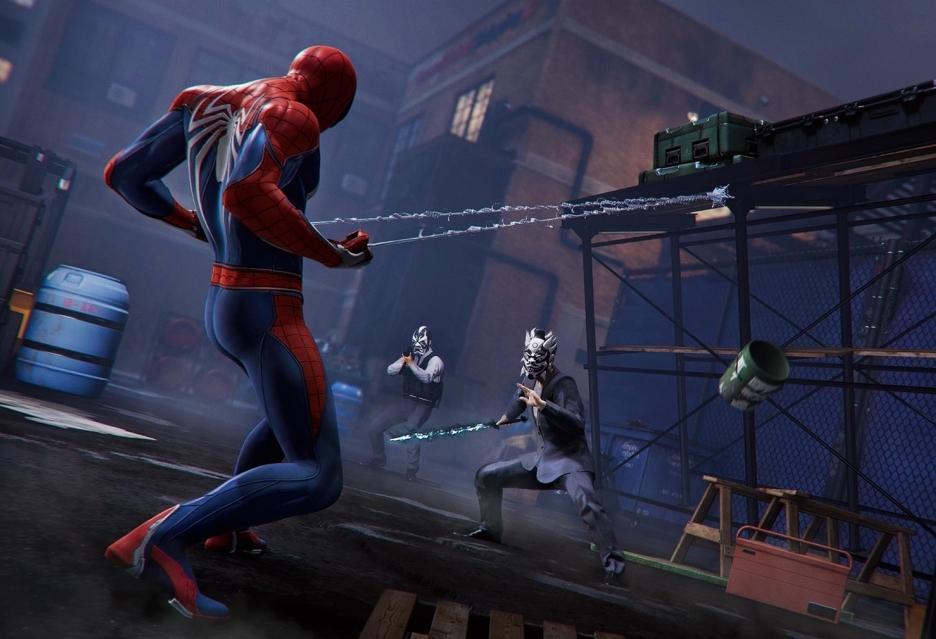 Spider-Man na (świetnie wyglądającym) materiale z rozgrywki