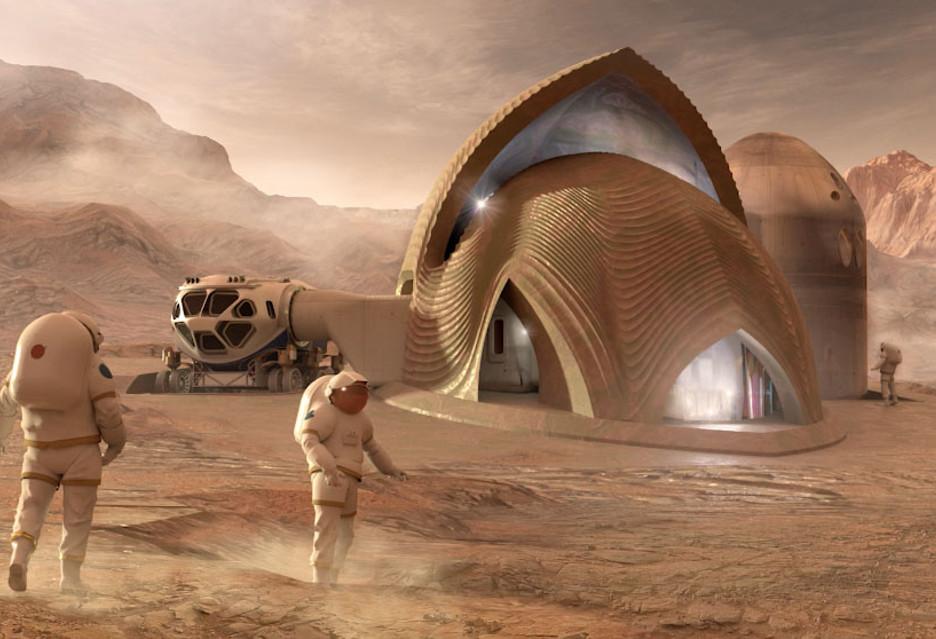 Jaka powinna być pierwsza marsjańska wioska? Oto projekty wybrane przez NASA