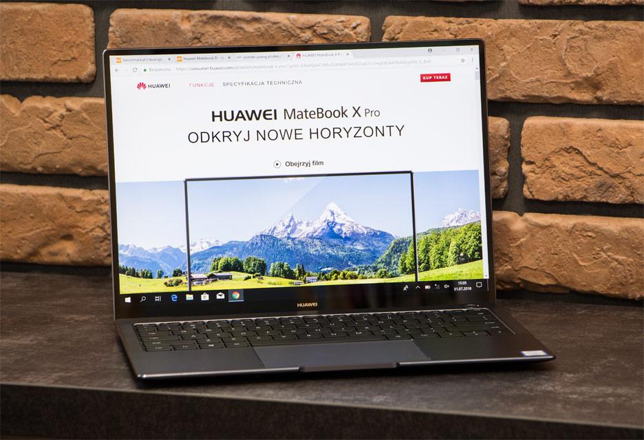Huawei MateBook X Pro - najgorętszy laptop tego roku | zdjęcie 1