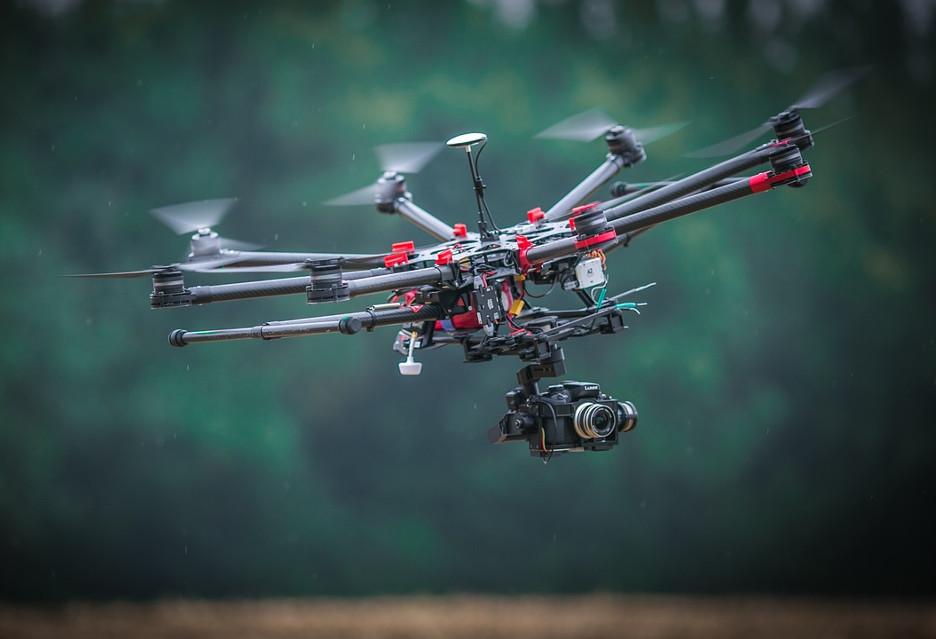 Drony znajdują kolejne zastosowania, między innymi w kopalniach