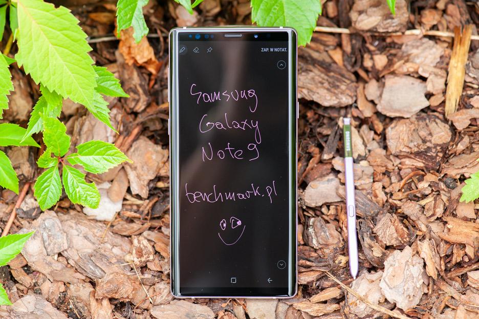 Galaxy Note 9 - różowy