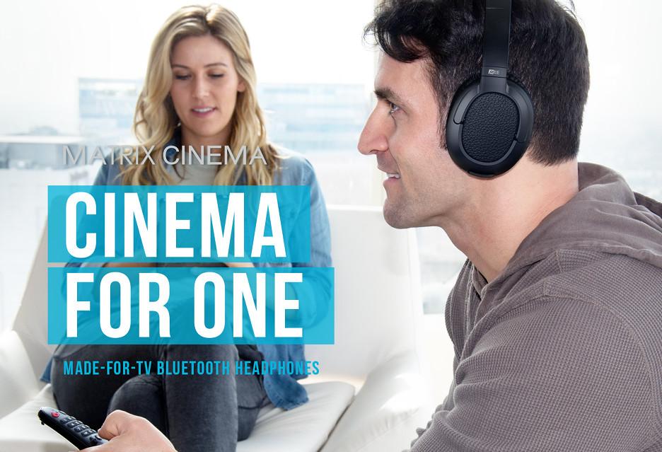 Słuchawki stworzone tak, by dobrze oglądało się w nich filmy - MEE Audio Matrix Cinema