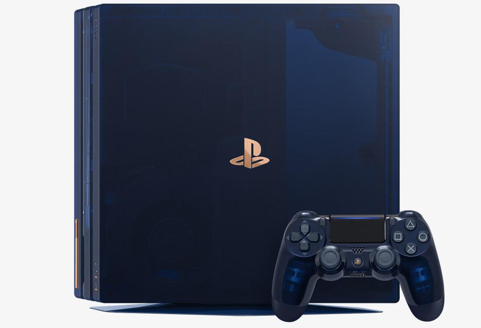 Oto limitowana PS4 Pro z okazji 500 milionów sprzedanych egzemplarzy PlayStation [AKT.]