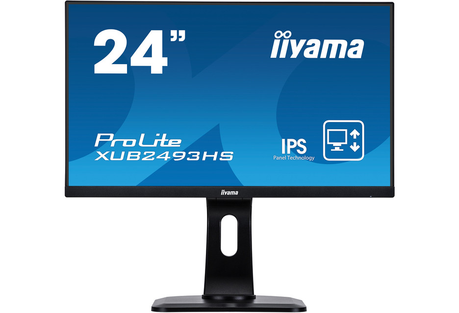 Prosty, 24-calowy monitor do biura - oto właśnie iiyama ProLite XUB2493HS-B1