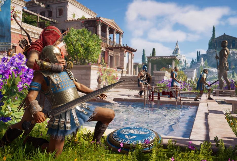 Porcja materiałów z Assassin's Creed Odyssey