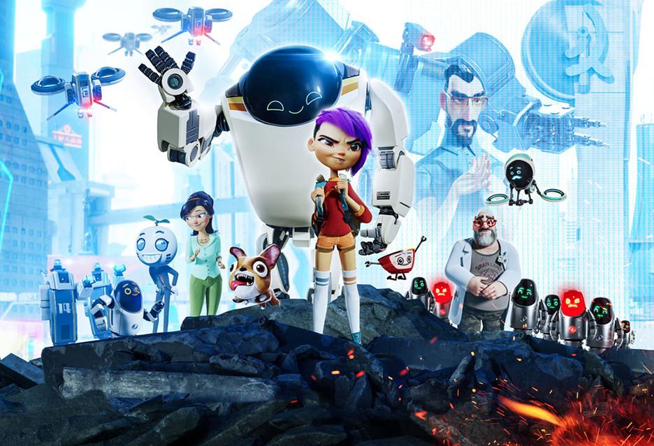 Nowa generacja to animacja o przyjaźni z robotem