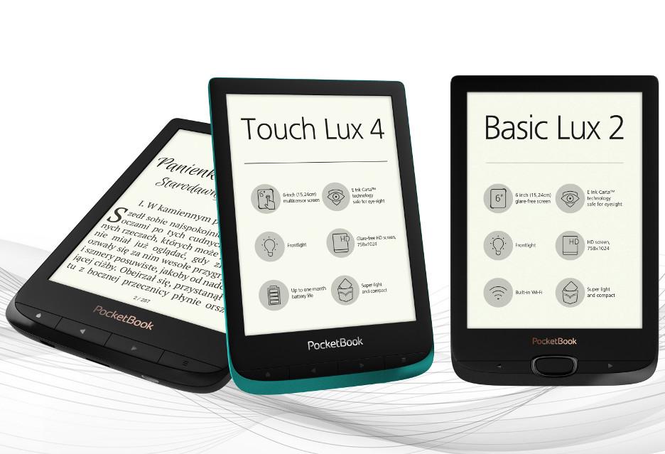 Nowe, lżejsze PocketBooki zaprezentowane