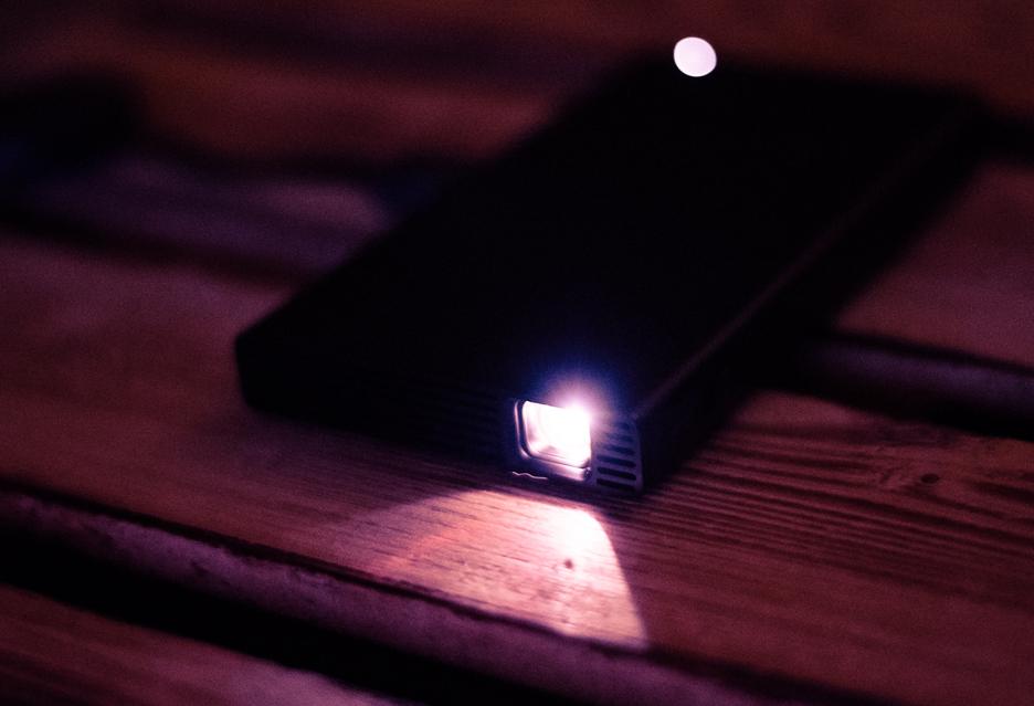 Sony MP-CD1 - recenzja kieszonkowego projektora | zdjęcie 1
