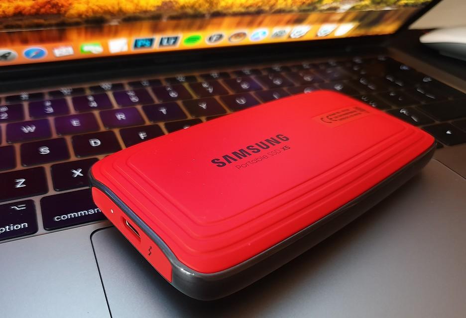 Przenośny dysk Samsung SSD X5 - rakieta na Thunderbolt 3 | zdjęcie 1