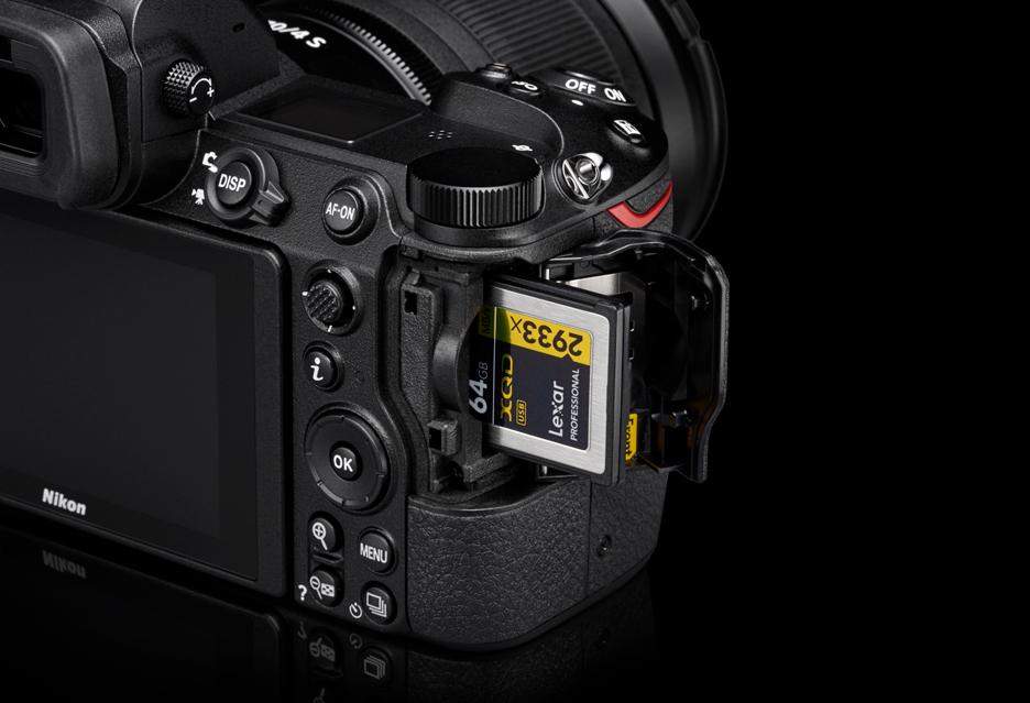Karty XQD, jeden slot, cena czy może nic - jeśli coś martwi w przypadku Nikona Z to co?