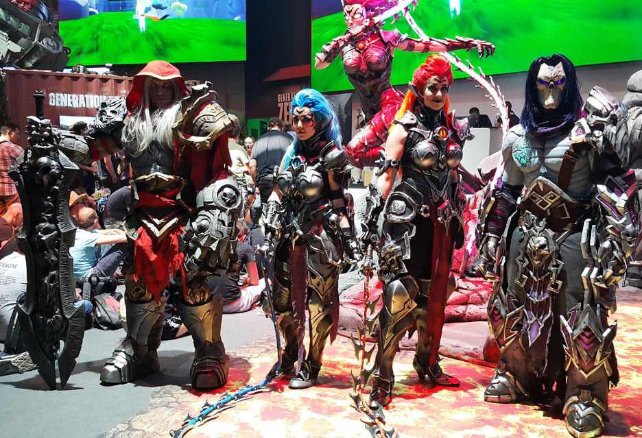 Hostessy i cosplay na Gamescom 2018 | zdjecie 6