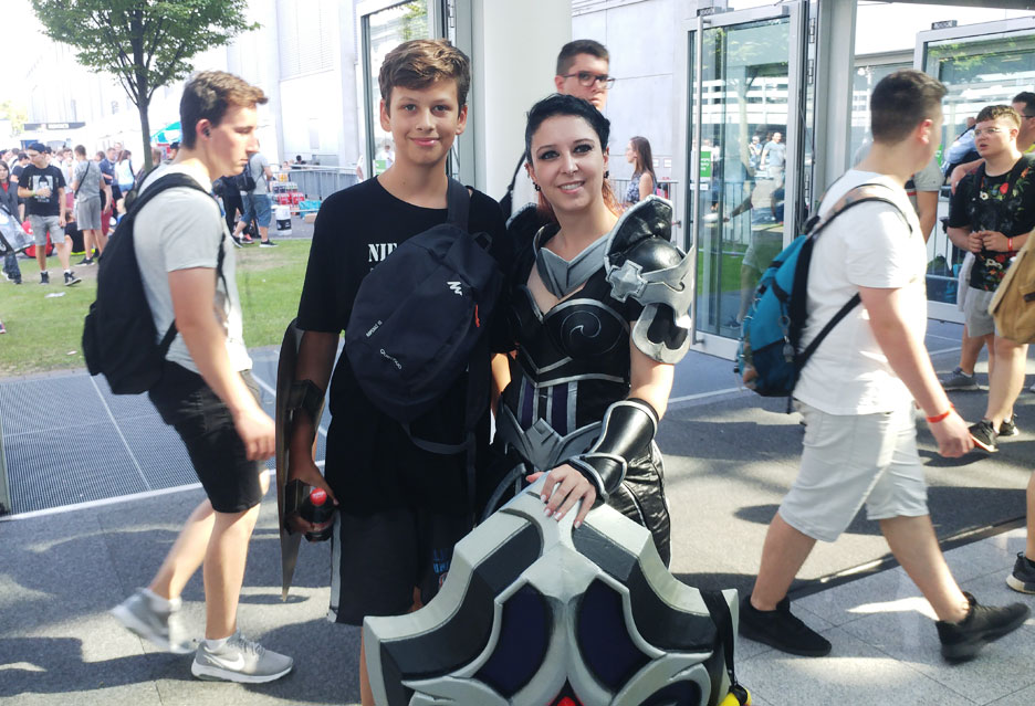 Hostessy i cosplay na Gamescom 2018 | zdjecie 15