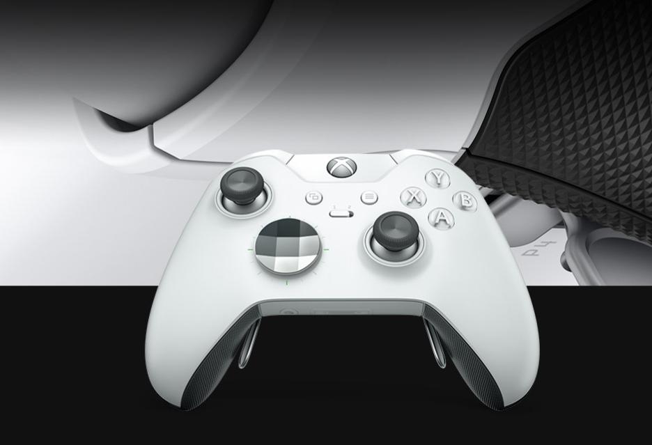 Xbox Elite oraz Xbox One X w nowych, białych szatach