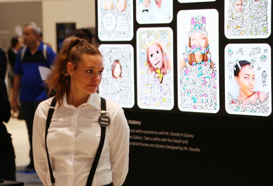 Dziewczyny targów IFA 2018 w Berlinie | zdjęcie 10