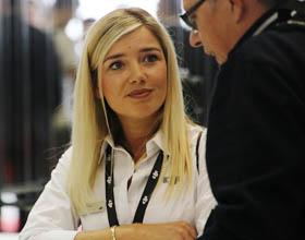 Dziewczyny targów IFA 2018 w Berlinie