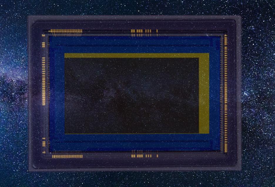 Ciekawostka: Canon i 2 Mpix sensor pełnoklatkowy - piksele 16x większe niż w EOS R