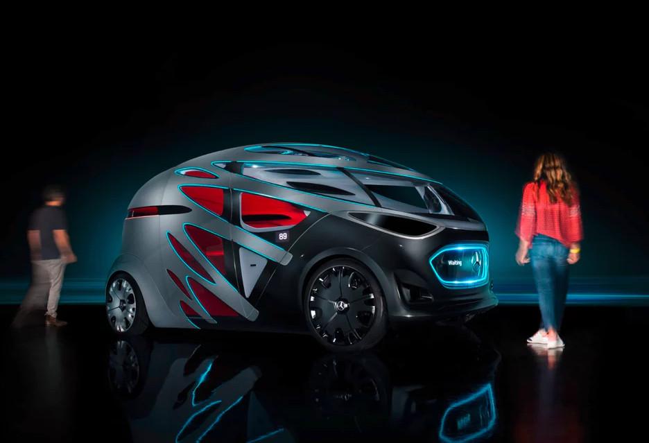 Przyszłość transportu według Mercedesa - oto koncepcyjny van Urbanetic