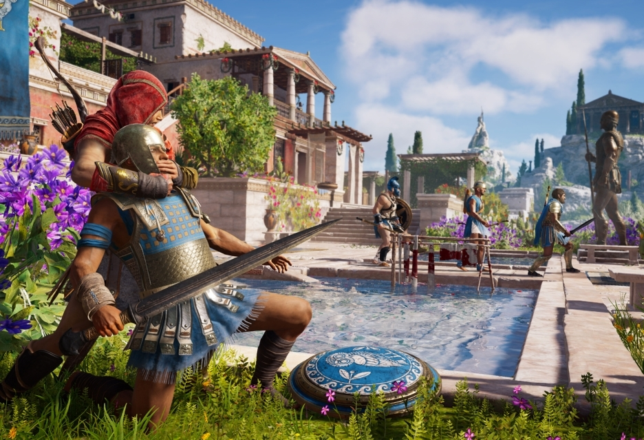 Assassin's Creed Odyssey z Guided Mode i Exploration Mode