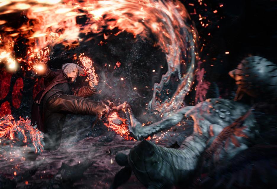 Dante pokazuje co potrafi na nowym zwiastunie gry Devil May Cry 5