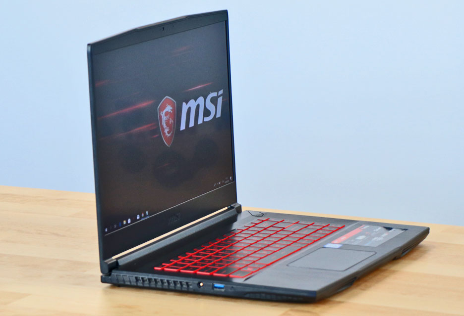 MSI GF63 8RD-011PL - wideorecenzja laptopa do grania