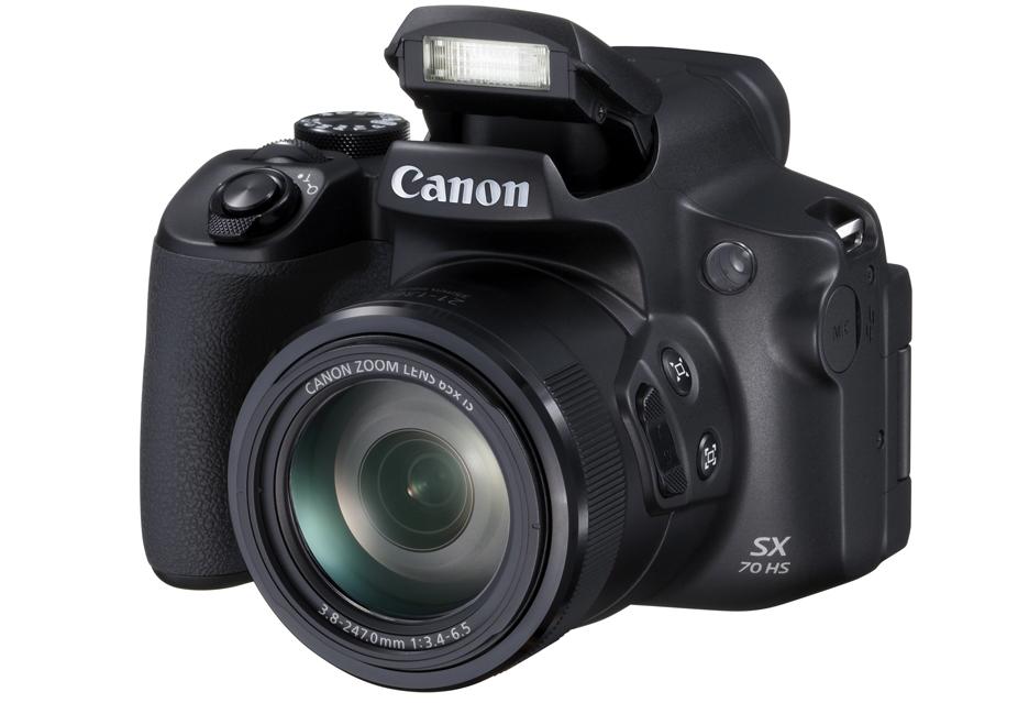 Ultrazoom Canon SX70 HS ma taki sam zoom 65x jak poprzednik - ale obraz ma być lepszy