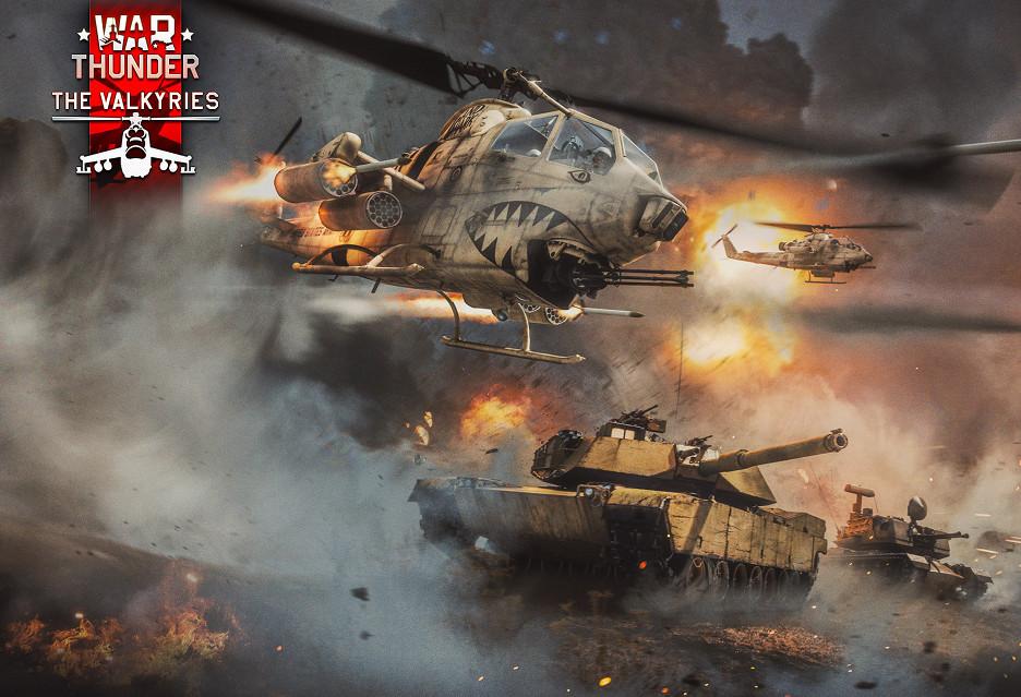 Helikoptery wlatują do świata War Thunder