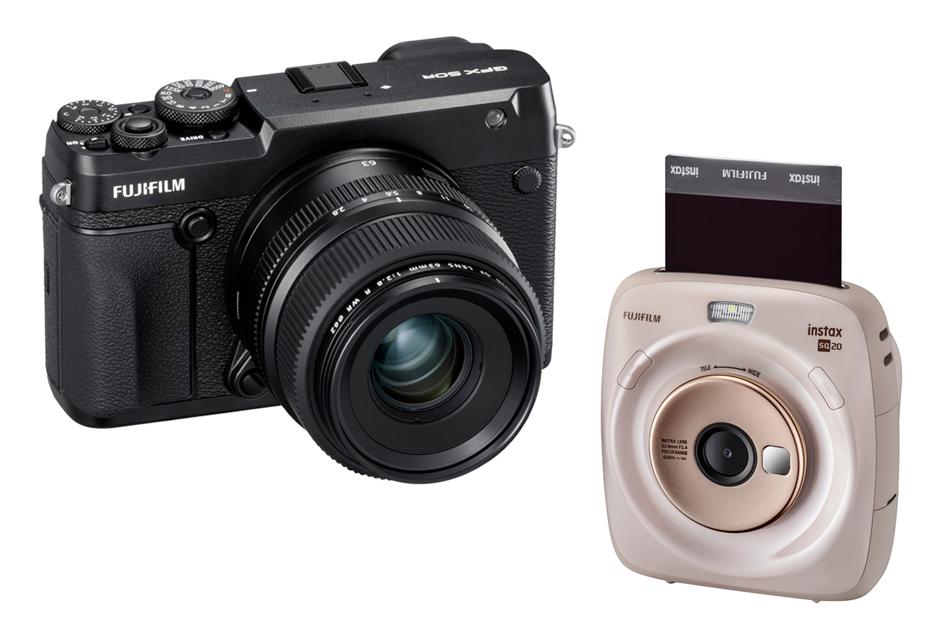 Fujifilm na Photokina 2018 - średnioformatowy GFX 50R i GFX 100 oraz natychmiastowy SQ20