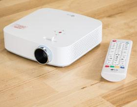 LG PF50KS - jak bardzo smart może być projektor?
