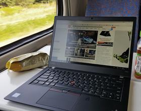 Laptop w podróży czyli 6000 km z Lenovo ThinkPad T480s