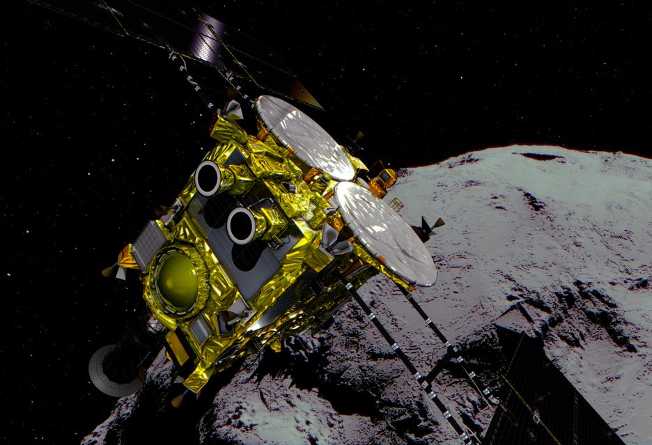 """Poklatkowe wideo z asteroidy - pokazuje jej rotację i bardzo krótki """"dzień"""""""