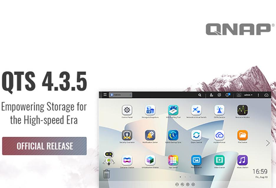 QTS 4.3.5 już dostępny - co nowego?