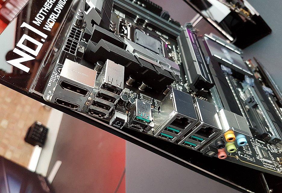 Płyty Z390 i inne nowości ASUSA | zdjęcie 17