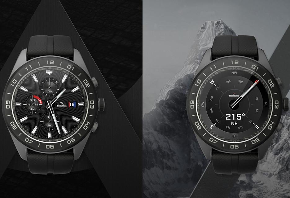 LG Watch W7 to hybrydowy smartwatch za (zbyt) duże pieniądze