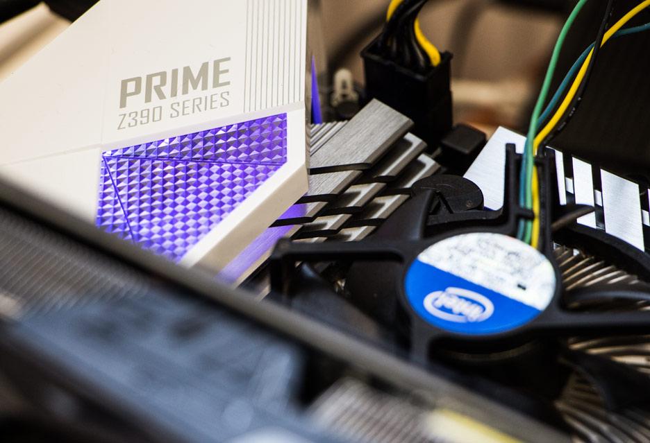 ASUS Prime Z390-A - świeżutki Prime raz! | zdjęcie 1