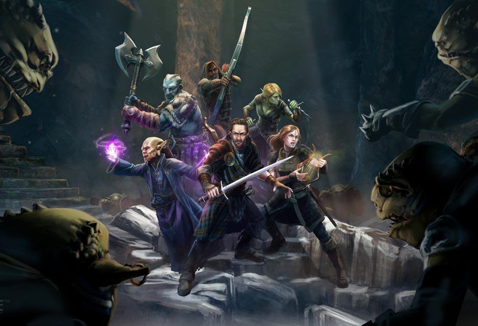 The Bard's Tale IV: Barrows Deep - wyśpiewana gra od speców od klasyki   zdjęcie 1