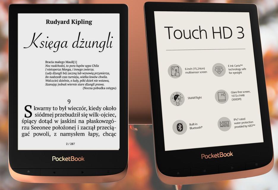 PocketBook Touch HD 3 to czytnik warty uwagi